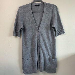 Eileen Fisher Angora Cashmere Cardigan Sweater